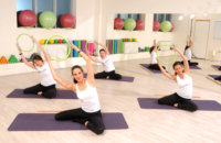 Ladies Corner Belvil Fitness stretching